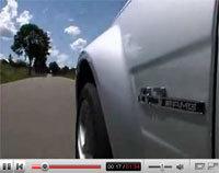 Mercedes C63 AMG: manquait la vidéo...