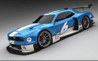 Design : Dodge Challenger DTM par Vizualtech