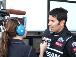 Soheil Ayari au top lors de la Journée Test des 24 Heures du Mans...
