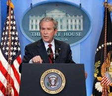 Georges Bush débloque 17.4 milliards de $ pour GM et Chrysler