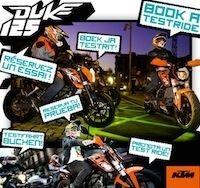 KTM: réservez l'essai de la 125 Duke sur Facebook