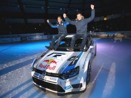 Sébastien Ogier fêté en héros à Gap