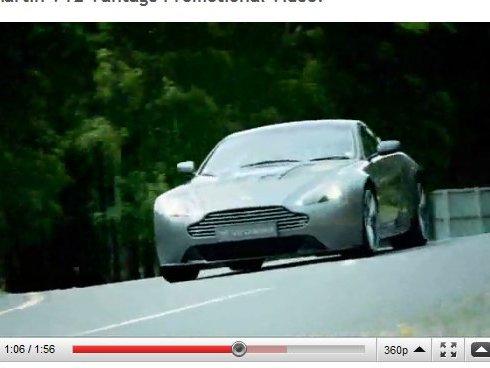[vidéo] l'Aston Martin V12 Vantage fait sa promo