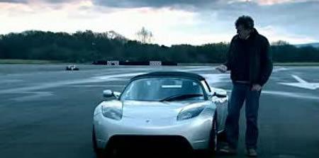 Tesla répond à Top Gear
