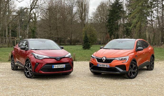 Comparatif vidéo - Renault Arkana VS Toyota C-HR : hybrides sur bien des points