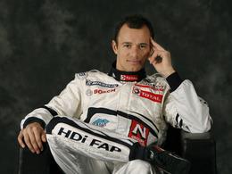 (Le Mans 2010) Simon Pagenaud et Stéphane Sarrazin, pilotes Peugeot