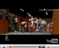 Vidéo moto : pub Repsol