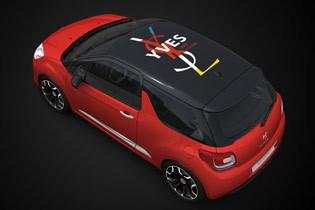 La Citroën DS3, Yves Saint Laurent et du people décoiffé