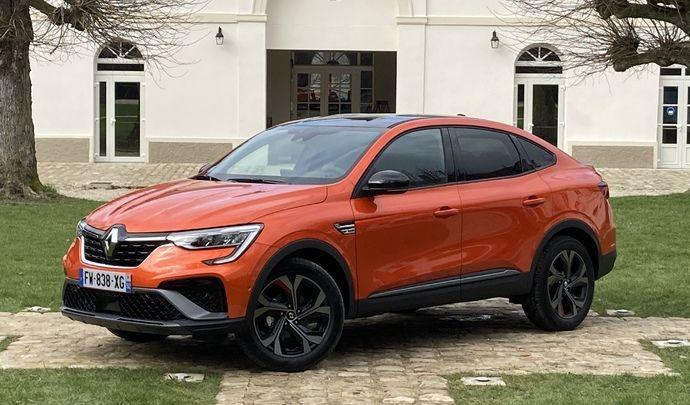 Renault Arkana (2021) : les premières images de l'essai en live