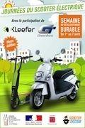 Journées du scooter électriques 2014 : rendez-vous jusqu'au 7 avril