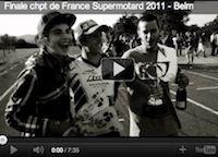 Supermotard: le team Luc1 en vidéo lors de la dernière épreuve 2011