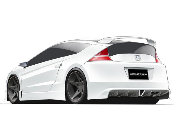Mugen va dévergonder la Honda CR-Z