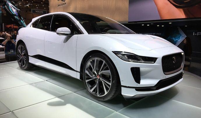 Jaguar I-Pace : premier 100 % électrique du félin - Vidéo en live du salon de Genève 2018