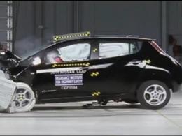 La Nissan Leaf et la Chevrolet Volt nommées «meilleur choix sécuritaire» par l'IIHS