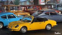 Miniature : 1/43ème - CG-SIMCA spider 1200S