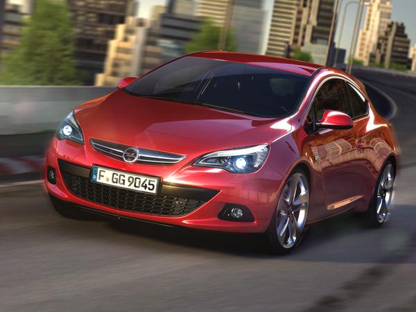 La nouvelle Opel Astra GTC se dévoile