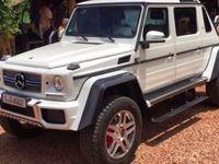 Mercedes : l'inédit Classe G Maybach en fuite