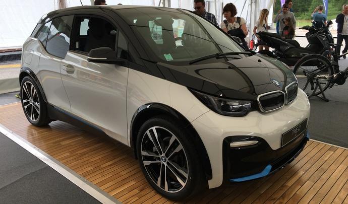 Salon de Val d'Isère 2019 - BMW i3: un peu plus loin