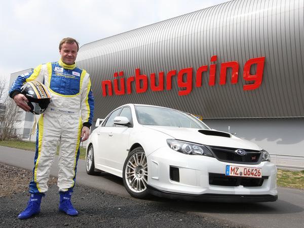 Ring Folies : 7'55'' pour la nouvelle Subaru Impreza STi !