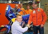 Cyril Despres poursuit l'aventure KTM