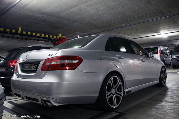 Photos du jour : Mercedes Classe E Brabus D3