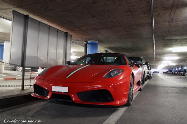 Photos du jour : Ferrari F430 Scuderia Spider 16M