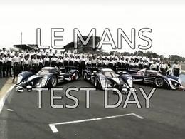 [Vidéo] La journée Test des 24 heures du Mans vue par les Peugeot officielles