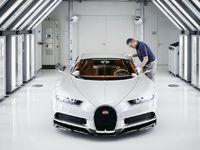 Bugatti Chiron: les coulisses de sa production en photos