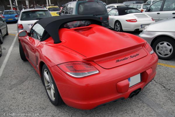 Photos du jour : Porsche Boxster Spyder