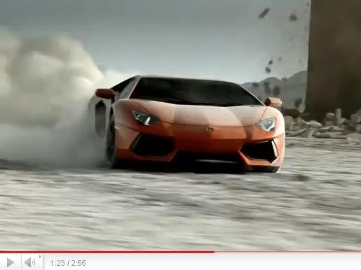 La Lamborghini Aventador LP700-4, idéale pour affronter la fin du monde