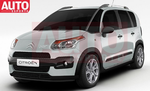 Futur Citroën C3 Picasso Air Cross: Pour l'Amérique du Sud