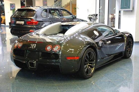 Bugatti Veyron Vincero by Mansory