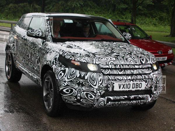 Futur Land Rover LRX : de plus près