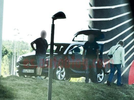 L'Opel Adam surprise sans aucun camouflage
