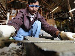 L'utilisation de béton recyclé permettrait d'économiser jusqu'à 20% sur le coût de fabrication des chaussées