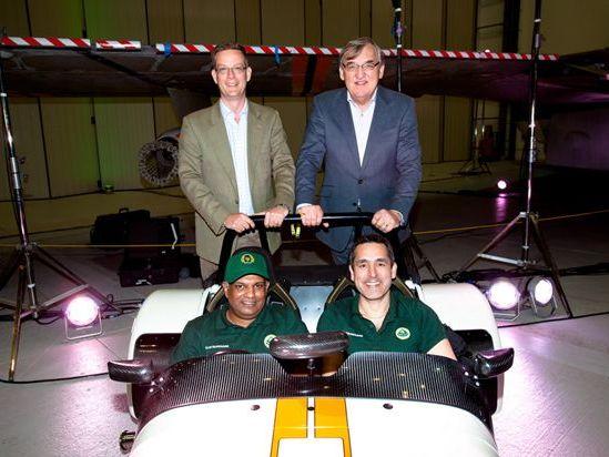 Une Caterham spéciale pour célébrer le rachat de Caterham par Team Lotus