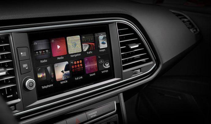 Seat: la Leon sera la première du groupe Volkswagen à adopter le nouveau multimédia