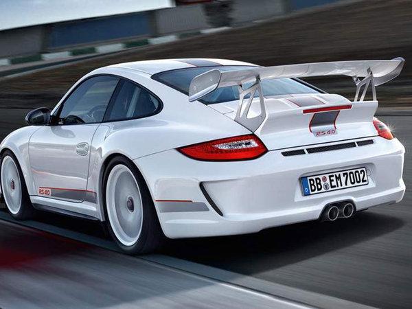 De nouvelles photos de la Porsche 911 GT3 RS 4.0 Limited Edition
