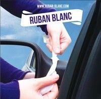 Sécurité routière : opération ruban blanc contre la répression