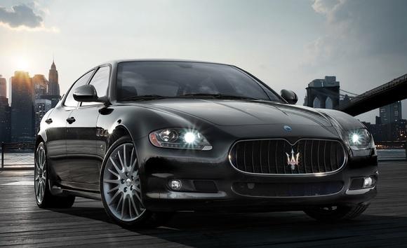 Détroit 2009 : Maserati Quattroporte Sport GTS
