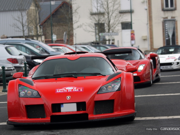 Photos du jour : Gumpert Apollo (Rallye de Paris)