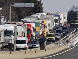 Social: les routiers montent au front contre l'Ecotaxe