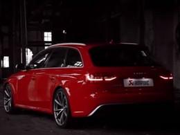 Vidéo : Akrapovic fait chanter la nouvelle Audi RS4
