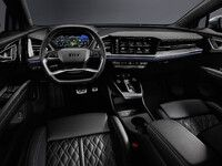 Audi dévoile l'intérieur du Q4 e-tron