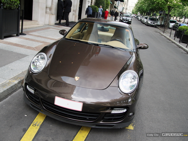 Photos du jour : Porsche 997 Turbo