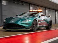 Aston Martin présente sa safety car pour la Formule 1