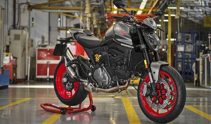 Le nouveau Ducati Monster entre en scène