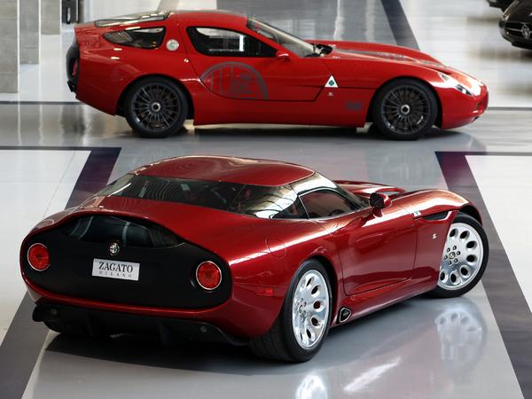 Officiel - Les 1ères photos de la Alfa Romeo TZ3 Stradale