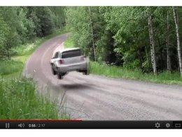 [vidéo] WRC : Volkswagen s'entraîne au saut en longueur en Finlande