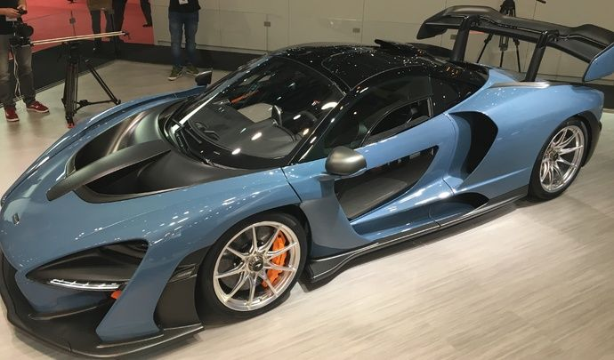 Découverte de la McLaren Senna — Salon de Genève